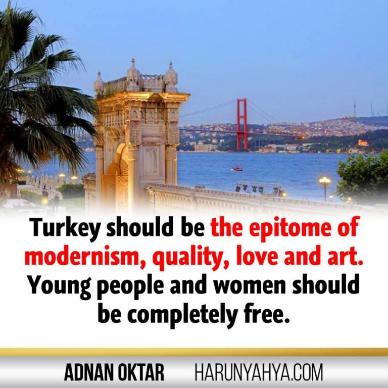 Adnan Oktar Says -Turkey-