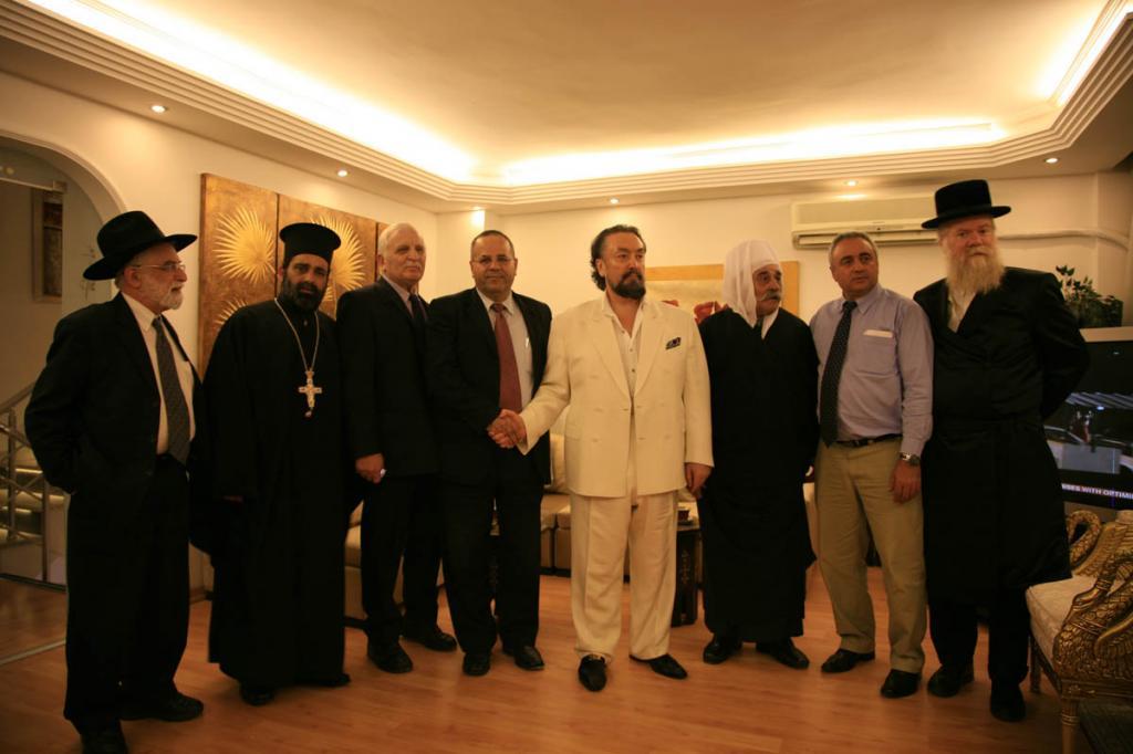 Adnan Oktar's Israeli Guests