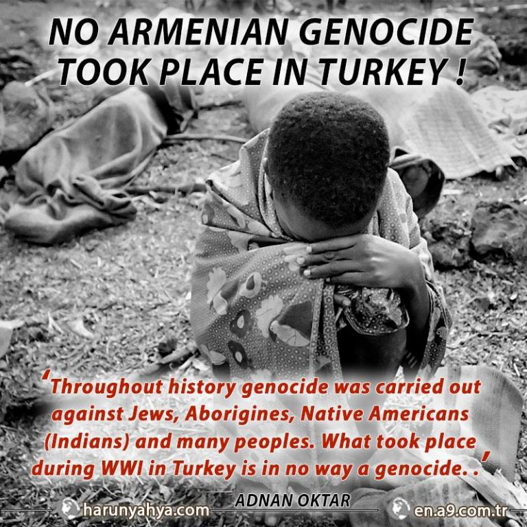 No Armenian Genocide took place in Turkey