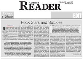 Rock Yıldızları ve İntiharlar