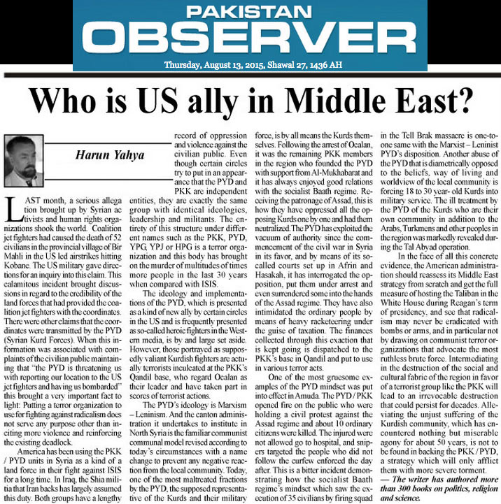 middle east articles