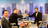 Mr. Adnan Oktar with Christian author Joel Richardson & Dr Oktar Babuna