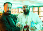 Mr. Adnan Oktar together with his guest the Deputy Leader of World Bektashi Alawis, Dervish Mikeli
