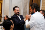 Mr.  Adnan Oktar and Esteemed performer Bora Gencer