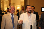 Mr.  Adnan Oktar and Prof. Dr. Sultan Mahmut Kaşgarlı, Chairman of East Turkestan Parliament in Exile