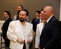 Mr. Adnan Oktar and Mr. Mehmet Göktürk, Chief Editor of GAZETE5 News Portal