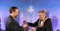 - Mr. Adnan Oktar  - Mr. Gian Franco Pilloni, Grand Master of the Grand Lodge of Italy u.m.s.o.i.