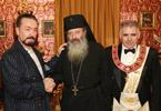 - Mr. Adnan Oktar  - Mr. Adeodato Leopoldo Mancini, Archbishop of the Holy Eastern Orthodox Catholic and Apostolic Church  - Mr. Gian Franco Pilloni, Grand Master of the Grand Lodge of Italy u.m.s.o.i.