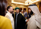 Mr. Adnan Oktar and Sheikh Muhammed Diyauddin Al-Qadiri Al-Khali, Turkey-Syria Representative of Jerusalem Association of Sayyids, Leader of Qadiriyya and Rifa'i Orders
