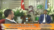 Mr. Adnan Oktar and Mr. Fakhri Al-Arashi, Chief Editor of National Yemen