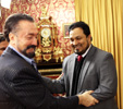 Mr Adnan Oktar with Mr Ata Noor (Director of Rohingya News Agency)