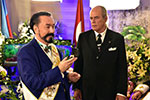 Mr. Adnan Oktar and Benitez de Armas, Highest representative of the Grand Master of Cuba