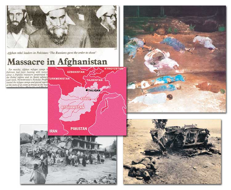 massacre in Afghanistan, Golden Age