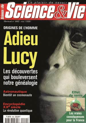 science vie Adieu Lucy
