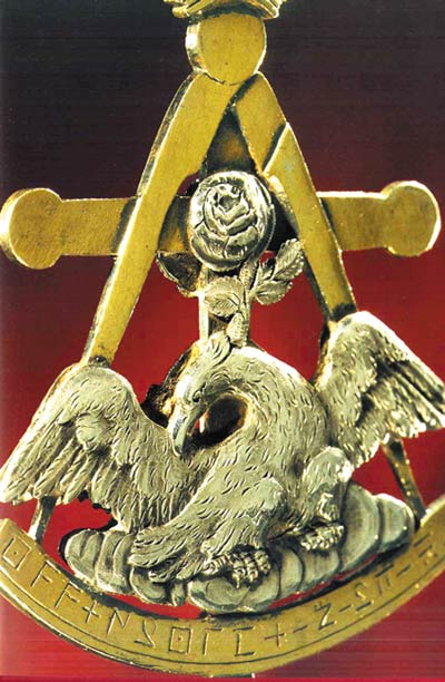 symbol of the Rosicrucians
