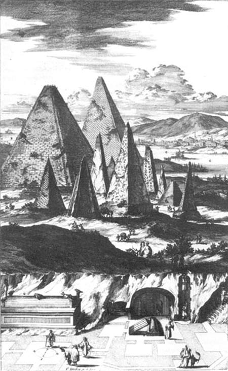 A depiction of the Ancient Egyptian city of Memphis