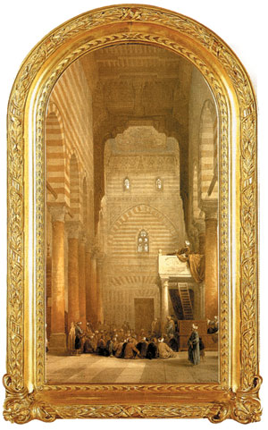 The Muayyad Mosque by David Roberts