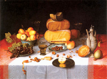 Nature morte avec fromages