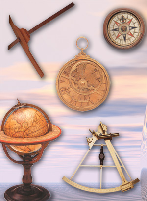 compass, sextant