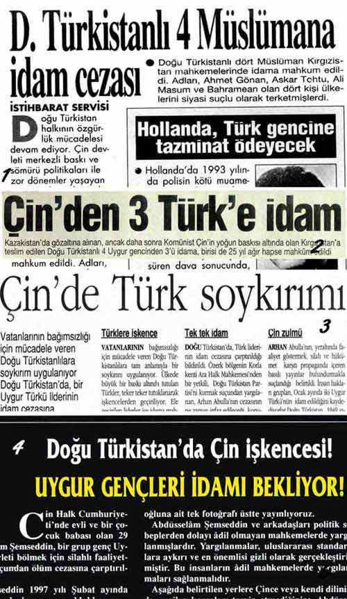 news, China, East Turkestan