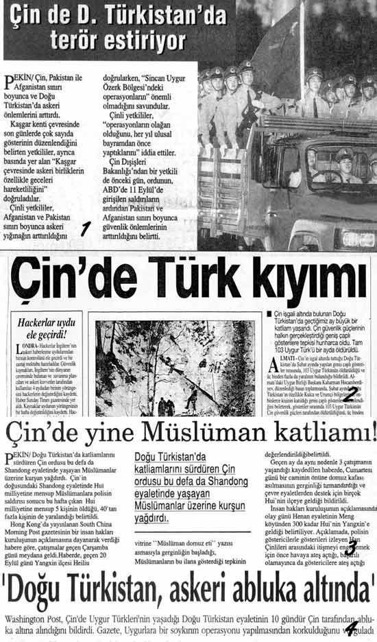Chına ıs Spreadıng Terror Throughout East Turkestan