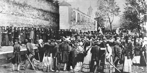 Paris, communards