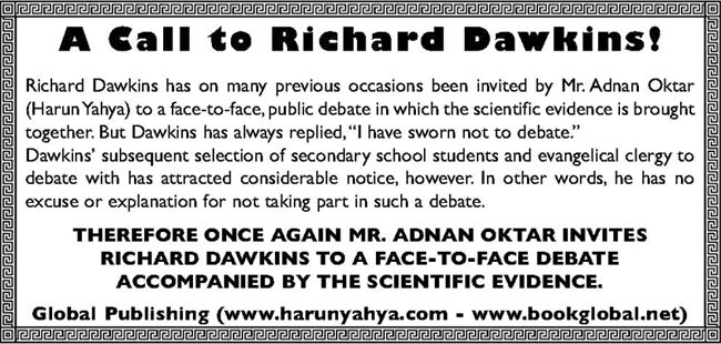 Call to Richard Dawkins