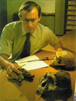richard leakey, fosil