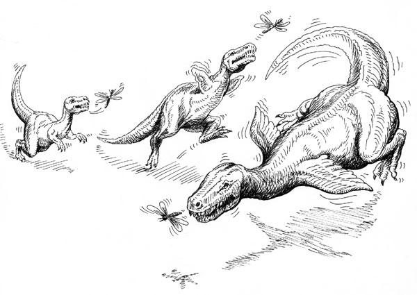 'Dinozorların sinek avlamaya çalışırken kanatlanıp kuş oldukları' iddiası