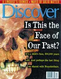 800 bin yıllık insan yüzü