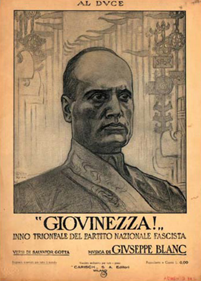 Mussolini, poster