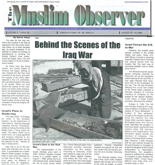 ABD - THE MUSLIM OBSERVER
