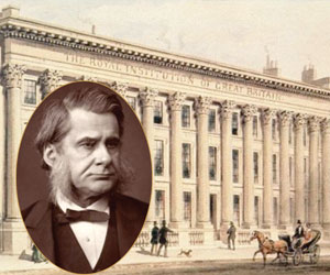 Thomas Huxley ve Royal Society binası