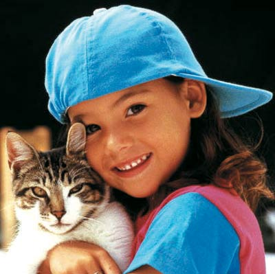 cat, enfant
