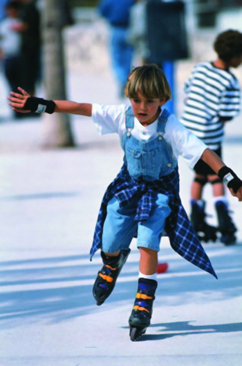 enfants patinage