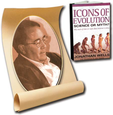 Jonathan Wells, Icons of evolution