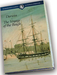 Le livre de Darwin, The Voyage of the Beagle (Le voyage du Beagle)