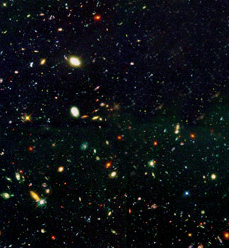 Hubble, space, big bang, telescope