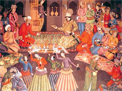A ceremony made in the name of Shah Abbas I of the Safavid Dynasty